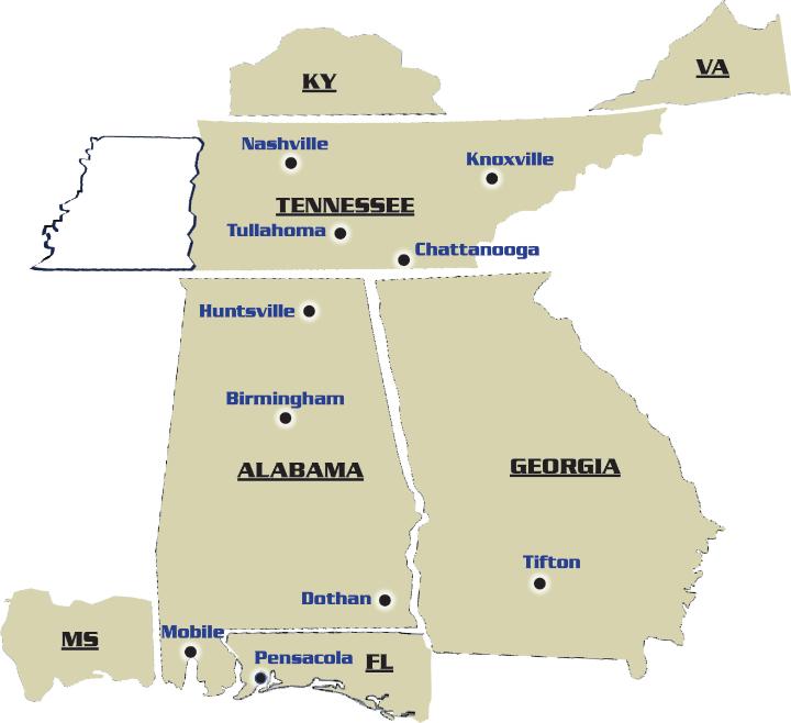 AEC Coverage Map 2021